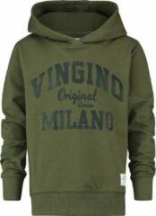 Vingino Jongens Trui - Olive Night - Maat 164
