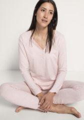 Hessnatur Damen Schlafshirt aus Bio-Baumwolle – rosa – Größe 40