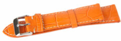 Benson Kalfsleder Oranje 20mm