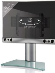 TV-Standfuß + Soundbar 'SBM900' | TV-Wandhalterung incl. Soundbarhalterung VCM silber/aluminium