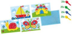 SES Creative knutselset, 'Mozaïekbord met kaarten'