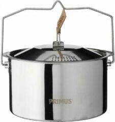 Zilveren Primus CampFire Campingservies en keukenuitrusting Stainless Steel 3L zilver
