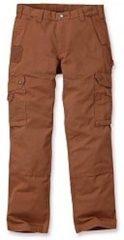 Carhartt - Cotton Ripstop Pant - Vrijetijdsbroek maat 30 - Length: 34, grijs/zwart/grijs/zwart/zwart/purper/blauw/beige/rood/blauw/zwar