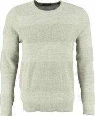 Jack & jones slim fit trui katoen beige grijs - Maat XL