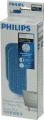 Philips Reinigungspad (2x Mikrofaserbürste und Aktivkalkfilter FC8056/01) Staubsauger