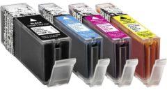 Basetech Inkt vervangt Canon PGI-550, CLI-551 Compatibel Combipack Zwart, Cyaan, Magenta, Geel BTC89 1518,0050-126