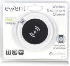 Eminent Ewent EW1190 oplader voor mobiele apparatuur Binnen Zwart, Transparant, Wit