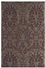 Beige Morris & Co - Laagpolig vloerkleed Morris & Co Autumn Flowers Plum 27500 - 200x280 cm