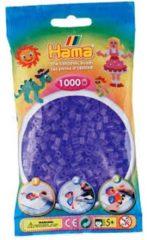 Paarse Strijkkralen Hama- 1000 stuks - Lila transparant