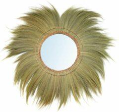 Beige Bazar Bizar De Mufasa Spiegel - Naturel - XL