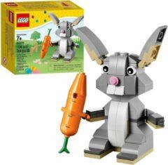 Oranje LEGO Paashaas met Wortel - 40086