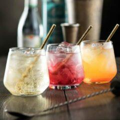 Transparante Pasabache Pasabahce Allegra – Drinkglazen – Set van 6 – 345 ML