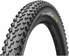 Zwarte Continental BUB Conti. 27.5-2.2(55-584) Cross King RS vouw zw 0101464