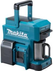 Blauwe Makita koffiezetapparaat 10.8V, 14V en 18V. Zonder accu-pack