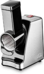 Zwarte Solis Slice & More 8401 Elektrische Hakmolen en Rasp - Groentesnijder - RVS
