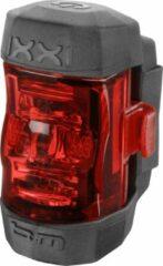 Rode Busch and Muller Busch & Müller - IXXI - Fietsachterlicht - Accu/Batterij - LED - USB Lader - Zwart