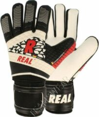 Real Active Keepershandschoenen - Wit / Zwart / Rood | Maat: