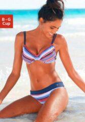 Blauwe S.Oliver RED LABEL Beachwear beugelbikini