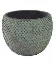 Blauwe Ter Steege Pot fay blue gold bloempot binnen 18 cm