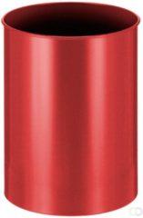 Rode Afvalbak Rond 30 liter, Rood