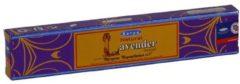 Paarse Merkloos / Sans marque Wierookstokjes Satya Naturel Lavendel (1 los pakje van 15 gram)
