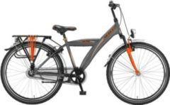 26 Zoll Herren City Fahrrad Hoopfietsen Altec Hero grau-orange