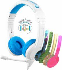 BuddyPhones School+ koptelefoon blauw - 85db - geluidsbescherming