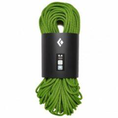 Groene Black Diamond - 9.4 Rope Dry - Enkeltouw maat 60 m olijfgroen/zwart/groen