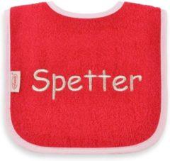 """Onze Miep Roze slab met """"Spetter"""""""