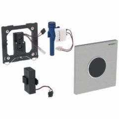 Geberit Type 10 urinoir bedieningspaneel infrarood 3V batterijvoeding, wit-goud-wit