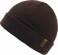 Forest Muts Bruin - Bruine Beanie - Wakefield Headwear - Mutsen