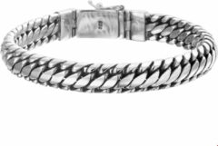 The Jewelry Collection For Men Armband 10 mm 20 cm - Zilver