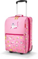 Reisenthel Trolley XS Kids Reiskoffer - Kind - Polyester - 12L - ABC Friends Pink Roze;Multi Kleur