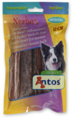 Antos Bullepees 12 cm - Hondensnacks - 5 stuks - Hondenvoer