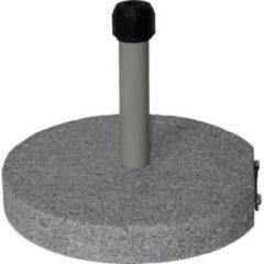 Lesliliving Parasolvoet rond graniet 40kg grijs