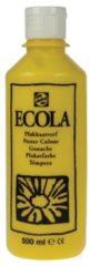 Plakkaatverf Talens ecola flacon van 500 ml, geel