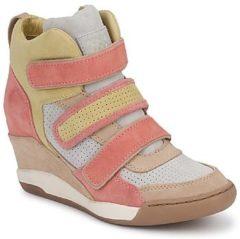 Oranje Hoge Sneakers Ash ALEX