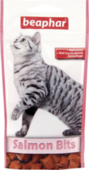 Beaphar Malt Bits - Kattensnack - Zalm 35 g - Kattenvoer