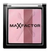 Roze Max Factor Max Effects Trio Eye Shadow - Sweet Pink