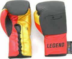 Legend Sports Bokshandschoenen Limited Legendary Zwart/rood/goud Mt 14oz