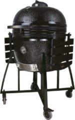Zwarte Elite Grill EliteGrill 68 cm - (26 inch) Black Limited Edition Deluxe BBQ met regenhoes - Barbeque - Kamado