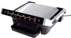 Maxxmee 09550 Grill Uitvoering (BBQ): Elektrisch Inklapbaar, Kabelgebonden, Met display Aluminium, Zwart