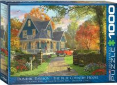 Eurograph Puzzel 1000 stukjes -The blue country house