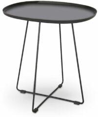 Home Style Bijzettafel Tina 50 cm breed in zwart