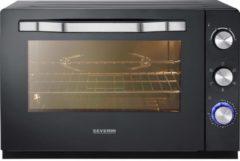 Severin TO 2066 Mini-oven Met handmatige temperatuursinstelling, Timerfunctie, Kabelgebonden, Met pizzasteen, Convectiefunctie 60 l