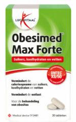 Lucovitaal Obesimed Max Forte - 30 tabletten