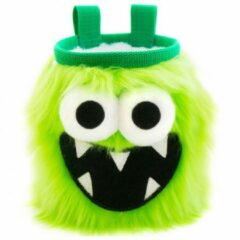 Groene Crafty Climbing - Five Toothed Monster Chalk Bag - Pofzakje groen