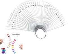 GUAPÀ Kleuren Waaier - Nagel Display Transparant - 2 x 50 stuks - High Quality Color Ring