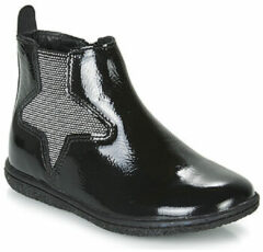 Zwarte Boots en enkellaarsjes Vermillon by Kickers