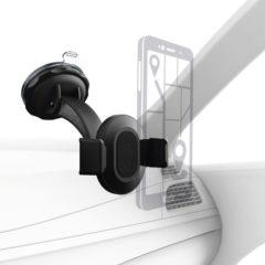 Hama Universal Ventilatierooster Telefoonhouder voor in de auto 360° draaibaar 55 - 85 mm